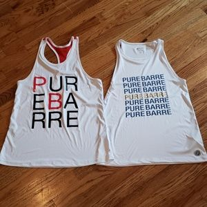 Two Pure Barre tops